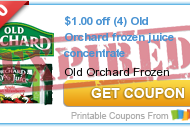 New Printable Juice Coupons: Old Orchard, Healthy Balance, Minute Maid, Very Cherre, POM Wonderful and Sambazon Juice or Smoothie + Walmart Deals