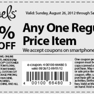 Michaels: 50% Off One Regular Priced Item Coupon