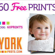 *HOT Offer* York Photo: 60 FREE Photo Prints