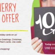 Cardstore.com: *HOT* TODAY ONLY — 10 FREE Holiday Cards + FREE Shipping!