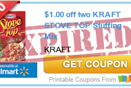 More Printable Coupons to Save on Thanksgiving Dinner:  Kraft Stove Top Stuffing Mix, Del Monte Green Beans, Campbell's Cooking Soups and More!