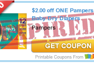 10 FREE Pampers Gifts To Grow Points + New $2 Pampers Coupon= Cheap Pampers Diapers at CVS!