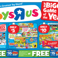 Toys R Us: Hasbro Game Sale & Gift Card Offers + Score Toy Story 3 Memory Game For Only $1!
