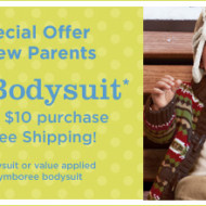 Gymboree: FREE Bodysuit with $10 Purchase + 20% Off Coupon by Email