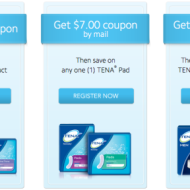 Walmart: FREE TENA Feminine Products With High Value TENA Product Coupons