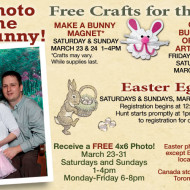 FREE Easter Activities at Bass Pro Shops: FREE Easter Egg Hunt, FREE 4×6 Photo with the Easter Bunny and FREE Easter Egg Crafts for Kids