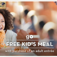 Olive Garden: Kids Eat Free with Adult Entree Purchase (Thru 3/21)