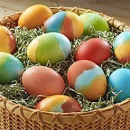 DIY Tie-Dye Easter Eggs