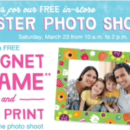 Walgreens Easter Photo Shoot: Free Magnet Frame and Free 4×6 Print – TODAY ONLY from 10AM-2PM