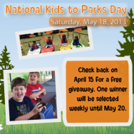 National Kids to Parks Day 2013