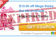 *HOT* $10 OFF Mega Bloks Barbie Products Coupon + Great Deal Scenarios at Walmart and Toys R'Us – Print Your Coupons Now!