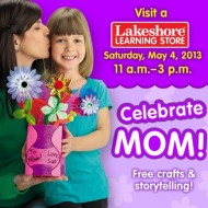 Lakeshore Learning: FREE Crafts for Kids On May 4th and Every Saturday From 11 am To 3 pm
