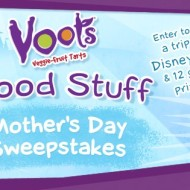 Voots Good Stuff Mother's Day Sweepstakes: Enter to Win a Bouquet of Flowers, $100 American Express Gift Card or a Trip for Four to Disneyland Southern California!