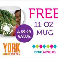 York Photo: Personalized Father's Day Mug, Just $5.99 Shipped + New Customers Score 40 FREE (4×6) Prints!
