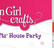 Apply to Host an American Girl Crafts House Party on July 27th
