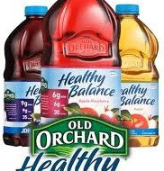 FREE Old Orchard Healthy Balance Reduced-Sugar Juice Drink – Request Coupon by Mail
