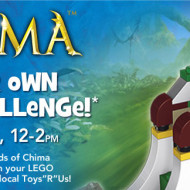 "Toys ""R"" Us: FREE LEGO Legends Of Chima Building Event Tomorrow, July 27th + Current Back To School Deals!"