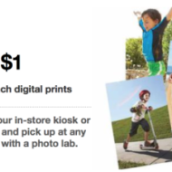 Target: 50 FREE 4×6 Digital Prints (Through 7/20)