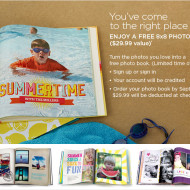 Shutterfly: FREE 8×8 Hard Cover (20 Page) Photo Book, Just Pay $7.99 Shipping!