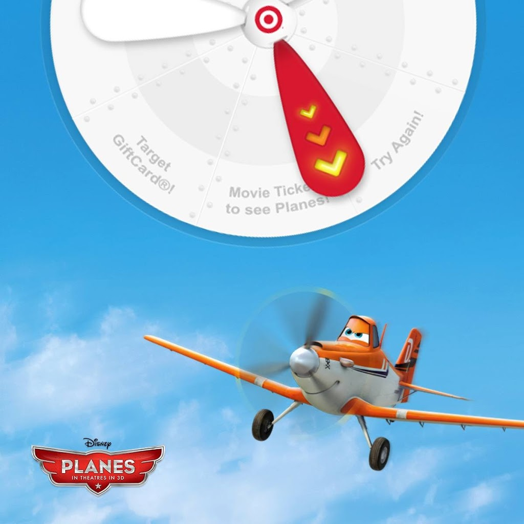 Target Disney's Planes Instant Win Game: Enter To Win $25