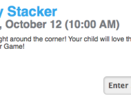Lowe's Build and Grow FREE Kid's Clinic: Register to Make FREE Spooky Stacker Game in October!