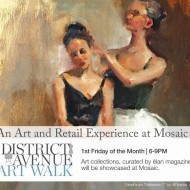 District Avenue Art Walk at the Mosaic District
