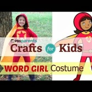 Cute DIY Halloween Costume Ideas from PBS Parents: WordGirl and Ninja – No Sewing Required!