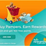Pampers Gifts to Grow: Earn 60 Points With 2 New Codes