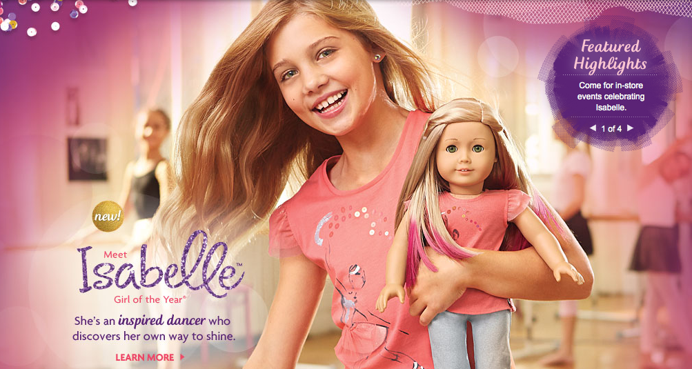 American Girl LE ISABELLE ACCESSORIES for Doll NEW Box Girl of Year /'14 Dance