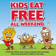 Steak 'n Shake: Kids Eat Free This Weekend with Purchase (Good for Dine-In Only)