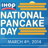 IHOP: FREE Pancakes for National Pancake Day on March 4th