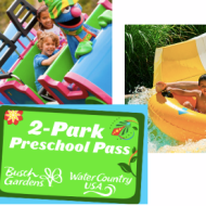 FREE 2014 Preschool Passes to Busch Gardens, Sesame Place and SeaWorld- Various Locations