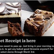 Starbucks: $1 Baked Goods After 2PM When You Bring in Morning Receipt (Valid Thru 3/3)