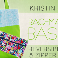 Craftsy FREE Mini-Class: Make A Reversible Tote and Zipper Pouch + More!