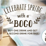 Great Offers from Caribou Coffee and Starbucks