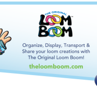 The Original Loom Boom: A New Way to Organize Your Loom Creations + Enter to Win Up to $500 VISA Gift Card at the 1st Annual Loomy Awards!