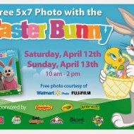 Walmart: FREE 5×7 Photo with the Easter Bunny (April 12-13)