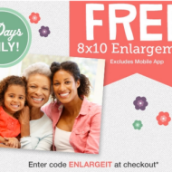 Walgreens Photo: Score a FREE 8X10 Photo Print with In-Store Pickup (Thru 5/10)