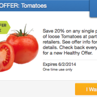 SavingStar: 20% Cash Back on Your Tomatoes Purchase + 15 Recipes Using Fresh Tomatoes … Or a Tomato Facial Mask?