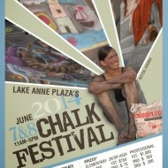 "Local Event: Let Your Inner Artist Shine at the Lake Anne ""Chalk on the Water"" Festival on June 7-8 (Reston, Virginia)"