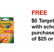 Target Mobile and Mailer Coupons for Back to School