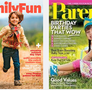 Free Subscriptions to Parents and FamilyFun Magazines