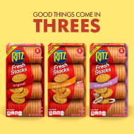 Back-to-School Snacking with RITZ Fresh Stacks Crackers