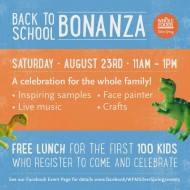 Whole Foods Market {Silver Spring, MD} : Back to School Bonanza Event Offers Free Lunch and More!