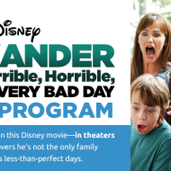 """Win Free Tickets to See Disney's """"Alexander and the Terrible, Horrible, No Good, Very Bad Day"""" Movie"""