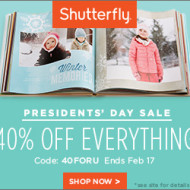 TODAY ONLY Deal at Shutterfly: Get 10 FREE Personalized Cards (Just Pay Shipping) + More!
