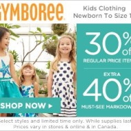 Gymboree Red Balloon Sale – Save Up to 75% Off