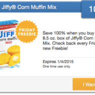 Freebie Friday: FREE 8.8 oz Box belVita Biscuits, Land O Lakes Cocoa and Jiffy Corn Muffin Mix – Must Load eCoupons TODAY