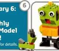 FREE LEGO Alien and Space Dog Mini Build {January 6th}