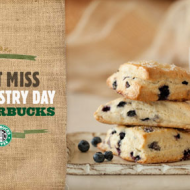 Starbucks Happy Mondays: FREE Pastry with Any Drink Purchase Today— 2 p.m. to 5 p.m.